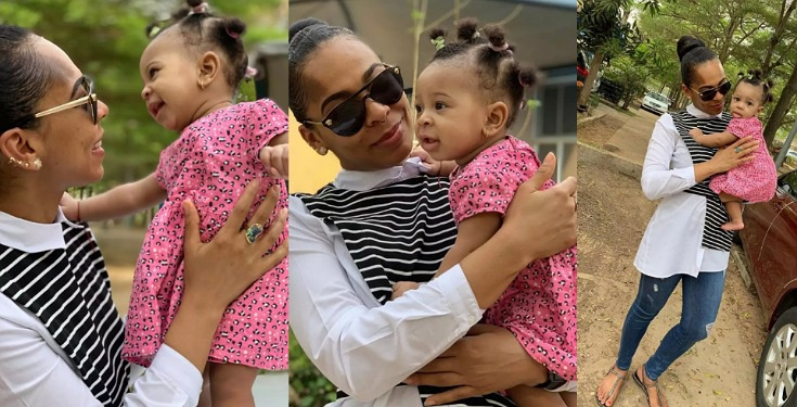 Tboss Shares Lovely New Photos With Her Daughter
