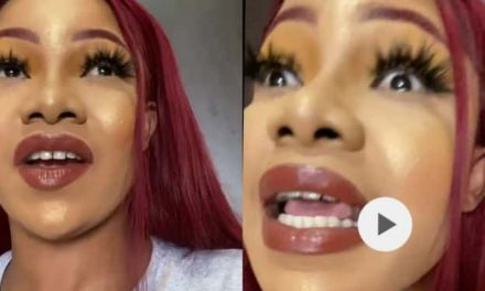 """""""Your makeup is terrible and horrifying"""" – Nigerians blast Tacha over excessive makeup in new video"""