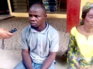Father ties up his 10-year-old daughter to ceiling and set fire to her private part for stealing N3,000 in Ibadan.