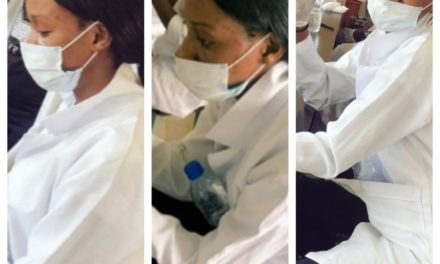 Coronavirus: Nigerian lady vows not to leave lab till she finds cure for disease