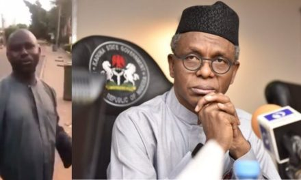 Nigerian man claims Governor El-Rufai is lying about being positive for Coronavirus