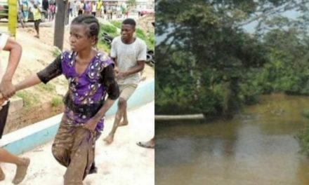 Mother of three jumps into Osun river due to financial hardship