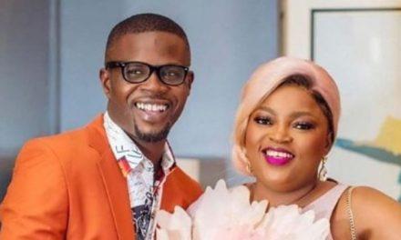 Funke Akindele celebrates her husband, JJC Skills as he turns 43