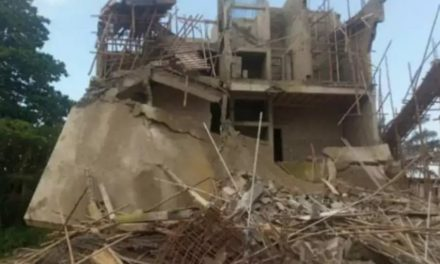 Three-storey building marked for demolition collapses in Enugu