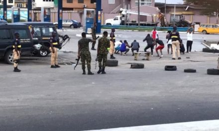 Lagos residents punished by soldiers for coming out to exercise despite lockdown order