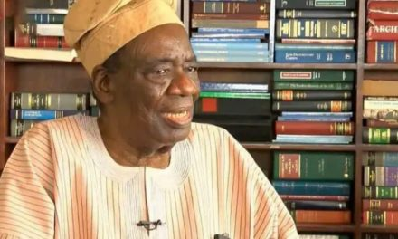 Former Nigeria's Attorney-General, Richard Akinjide is dead
