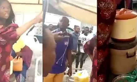 """""""Damn your food!""""- Angry youths chase Governor Sanwo Olu's 'Food kitchen' in Oworu"""