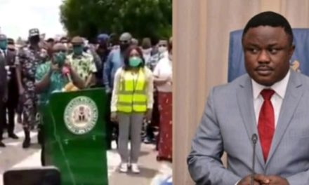 'You don't need social distancing when you put on protective mask' – Cross Rivers state governor tells residents