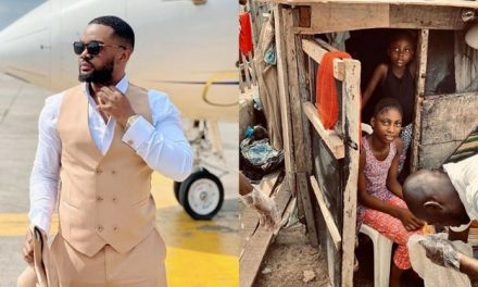 Nollywood actor Williams Uchemba set to provide accommodation and education for sisters living under telecom mast
