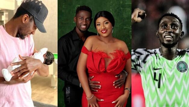 Super Eagles midfielder, Ndidi Wilfred and wife welcome their first child