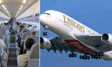 Nigerian woman delivers a baby boy aboard Emirates Airline