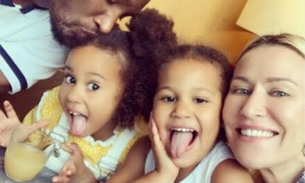 """""""At the end of the day, that's all that matters"""" – Mikel Obi shows off beautiful twin daughters"""