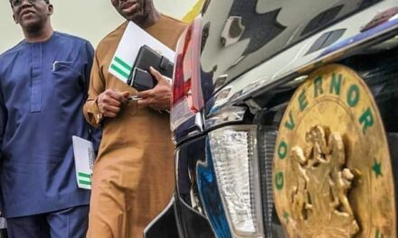 Edo state governor, Victor Obaseki, finally defects to PDP