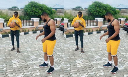 Williams Uchemba's Finally Moves In With His Adopted Son, Demola (Video)
