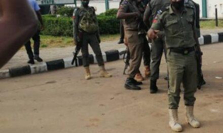 Police storm Edo Assembly