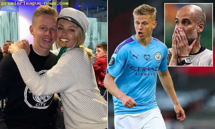 Man City player Zinchenko issues lengthy statement after his wife calls out Pep Guardiola for Champions League failure