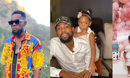 Patoranking shows us adorable pictures of his daughter, Wilmer, as she clocks 2