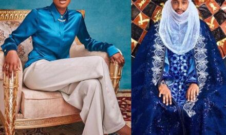See the wedding invitation of President Buhari's daughter, Hanan to Turad Sha'aban