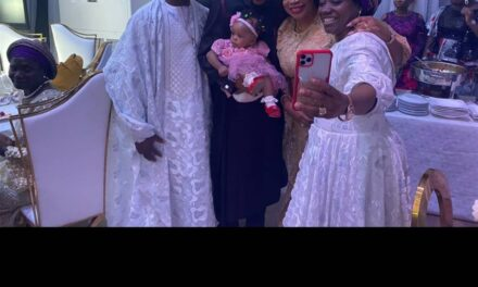 See beautiful photos of Sinach's daughter at Joy Oyedepo's wedding