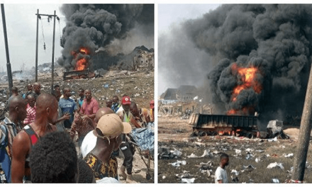 'The real cause' of Abule Ado explosion by BBC