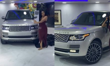 """""""I'm definitely going into acting"""" – Fans react as Actress, Damilola Adegbite shows off her newly acquired Range Rover"""