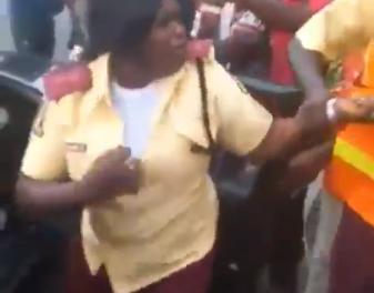 Female LASTMA officer to be investigated for assaulting passenger