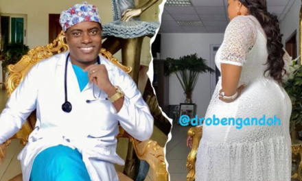 I intentionally shaped my wife's body for myself to enjoy – Ghanaian plastic surgeon, Dr Obengfo