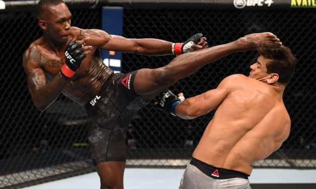 Nigerian undefeated MMA fighter, Israel Adesanya, beats undefeated Paulo Costa to retain his UFC middleweight title