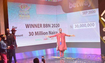 Laycon Wins BBNaija Season 5, N85 Million Grand Prize