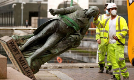 London financial district asks if it should remove statues linked to slavery in response to the Black Lives Matter movement