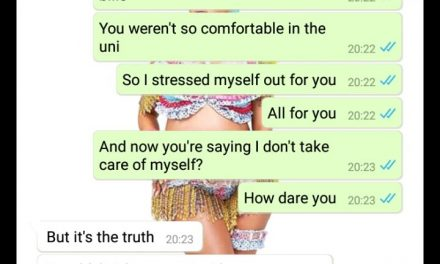 Man breaks up with ex because she slept with a married man to pay his school fees