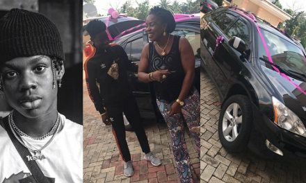 Rema gifted his mom a Lexus SUV at the age of 17 before Don Jazzy signed him