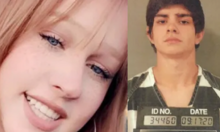 Teenager who killed his pregnant girlfriend claims he was 'playing around' when the gun went off