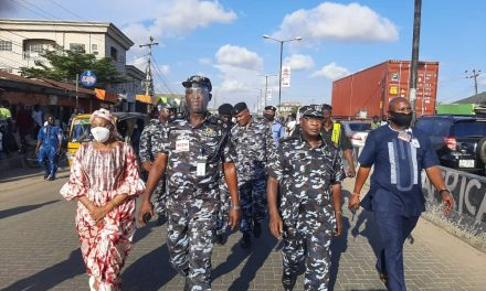 Lagos CP compelled by End SARS protesters to trek for 10 KM to visit Ojah Bee's assaulted mother in Okota