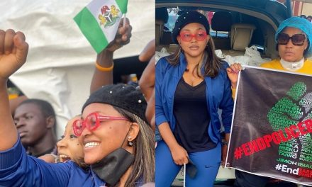 #Endsars protest will give ladies husbands this year more than Shiloh – Mercy Aigbe