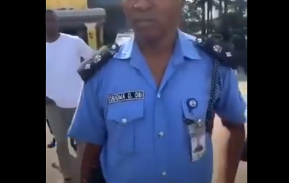 Disciplinary action to be taken against policeman, Obioma O. Obi, who assaulted protesters – Commissioner of Police