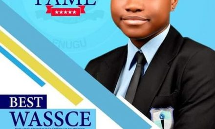 17-year-old Enugu girl who got A1 in all subjects in WAEC dies