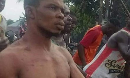 Anambra pastor stripped and paraded in village after he was allegedly caught with charms