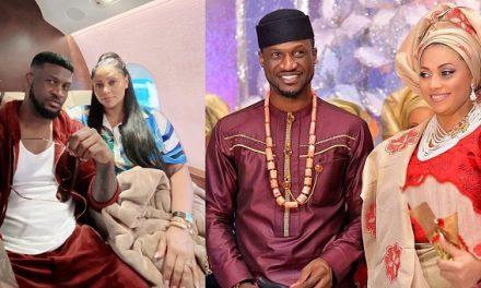 """Best decision we ever made"" – Singer, Paul Okoye writes as he celebrates 7th wedding anniversary with his wife, Lola Okoye"