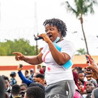 #EndSARS: Rinuola mocks CBN after it got a court order to freeze her account and that of 18 others