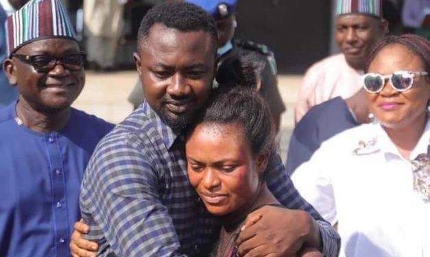 Benue state Governor protects Channels' TV staff who brutalized his wife by sending the assaulted woman back to her husband