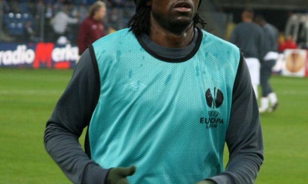 Footballer Emmanuel Adebayor accuses his ex, Dillish Mathews, of lying and cheating