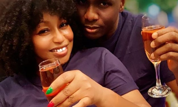 Actress Rita Dominic unveils her man, Daily Times publisher, Fidelis Anosike
